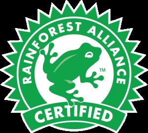 Sello Rainforest Alliance Certified